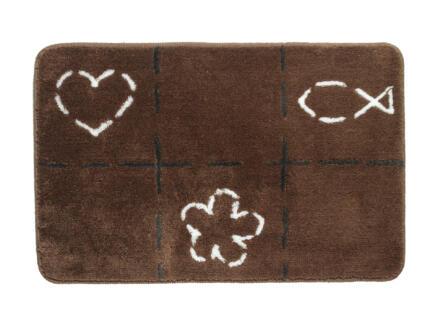Sealskin Tack tapis de bain 90x60 cm brun