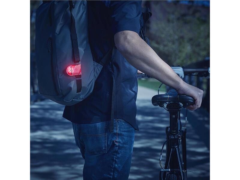 Nite Ize TagLit LED lamp magnetisch rood