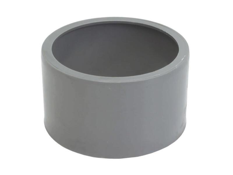 Scala Tampon avec réduction incorporée 100mm/90mm caoutchouc gris