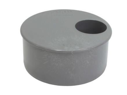 Scala Tampon avec réduction incorporée 110mm/40mm caoutchouc gris