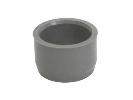 Scala Tampon avec réduction incorporée 50mm/40mm caoutchouc gris
