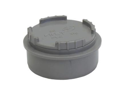 Scala Tampon de visite avec couvercle 50mm gris
