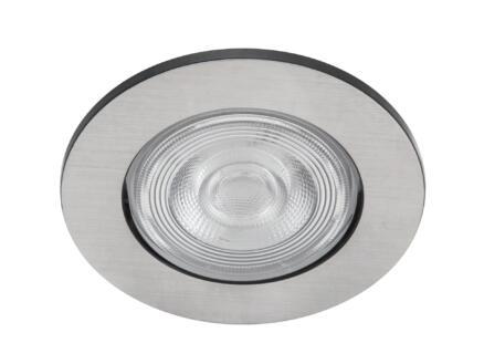 Philips Taragon LED inbouwspot 4,5W nikkel grijs