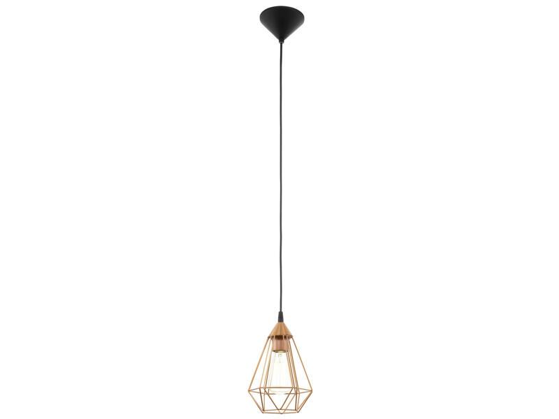 Eglo Tarbes hanglamp E27 max. 60W 17,5cm koper