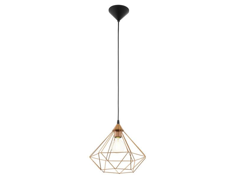 Eglo Tarbes hanglamp E27 max. 60W 32,5cm koper
