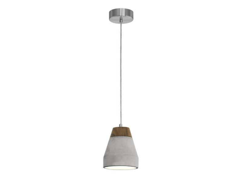 Eglo Tarega hanglamp E27 wat. 60W grijs/bruin