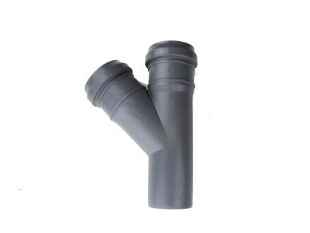 Scala Té 45° MFF 40mm polypropylène gris