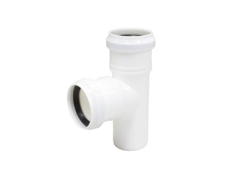 Scala Té 87° MFF 90mm polypropylène blanc