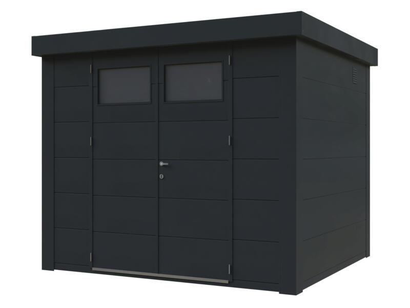 Telluria Eleganto abri de jardin 270x240 cm métal anthracite