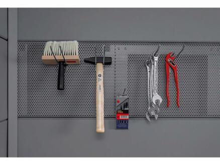 Telluria Eleganto panneau perforé pour rangement d'outils 210cm