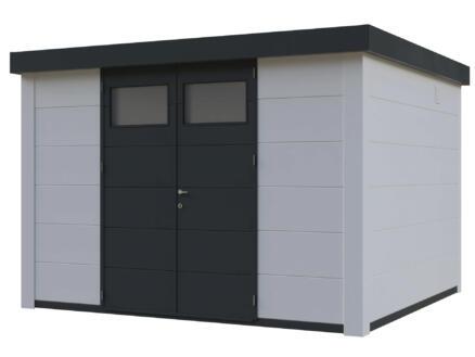 Telluria Eleganto tuinhuis 330x300 cm metaal wit/antraciet