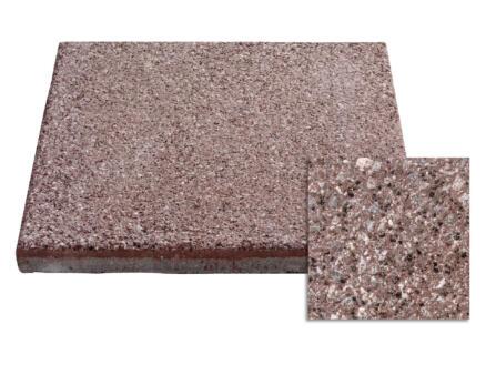 Terrastegel 40x40x3,7 cm 0,16m² beton rood