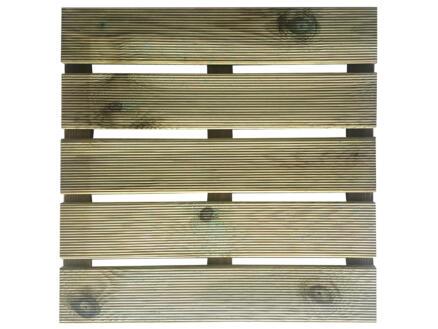 Terrastegel 50x50 cm 0,25m² hout