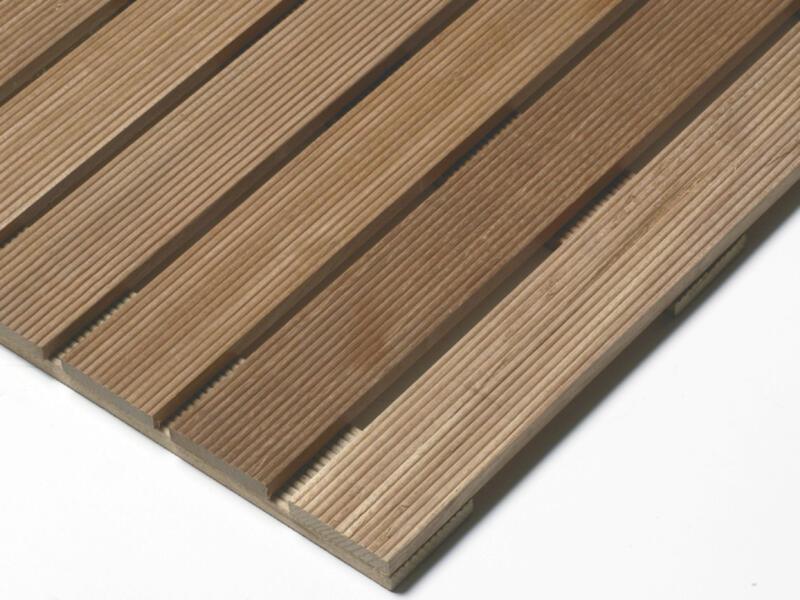Terrastegel 50x50x2,4 cm 0,25m² hardhout