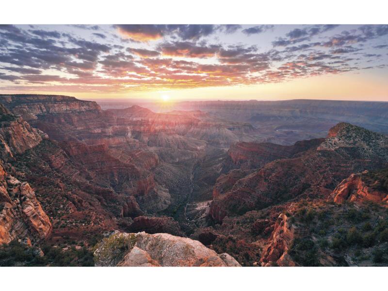 The Canyon intissé photo numérique 4 bandes