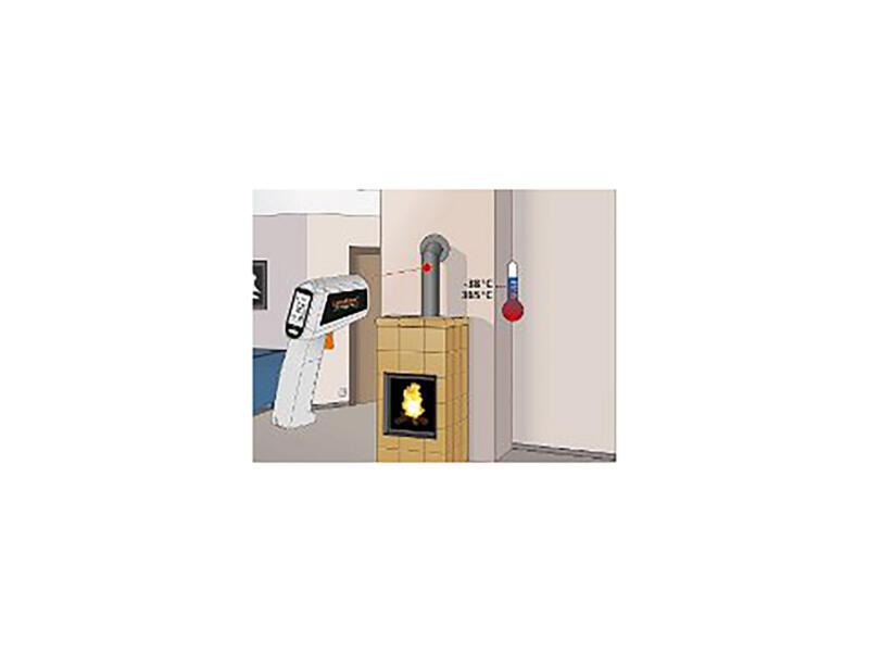Laserliner ThermoSpot One instrument de mesure infrarouge