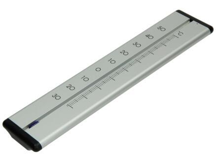 Thermomètre 30cm aluminium
