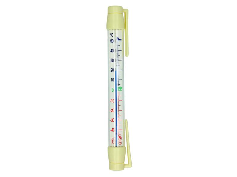 Thermomètre de fenêtre 20cm matière synthétique