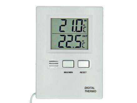 Thermomètre digital blanc