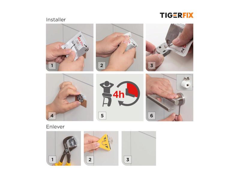 Tiger TigerFix type 1 bevestigingsset 4x3,5 cm