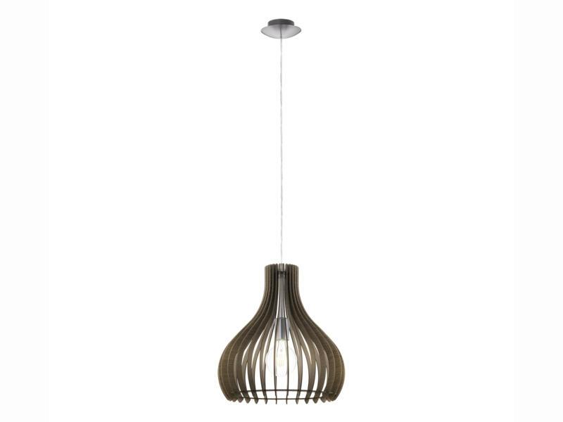 Eglo Tindori hanglamp E27 max. 60W 38cm bruin