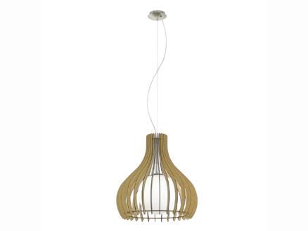 Eglo Tindori hanglamp E27 max. 60W 50cm ahorn