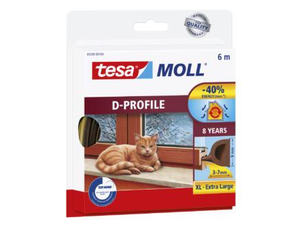 Tesa Tochtstrip D 6m 0,9cm bruin