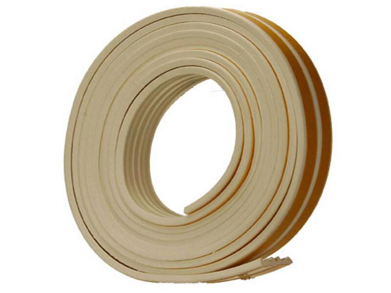 Confortex Tochtstrip E 18m 0,9cm wit