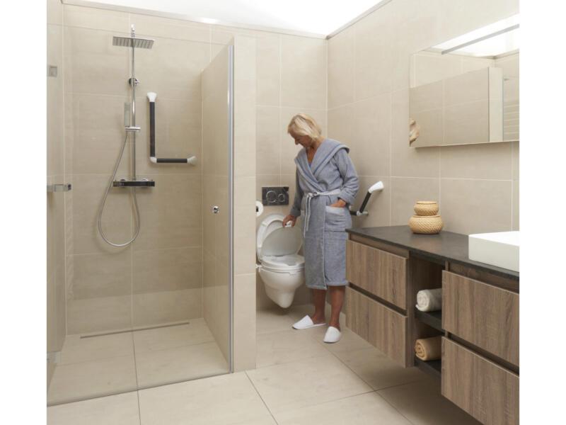 Toiletverhoger zonder klep 100mm wit