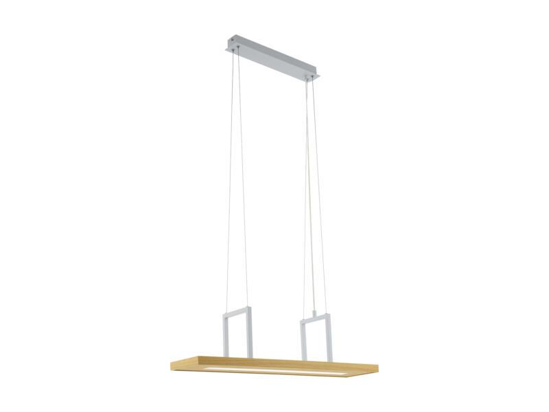 Eglo Tondela suspension LED 13,6W blanc/ahorn