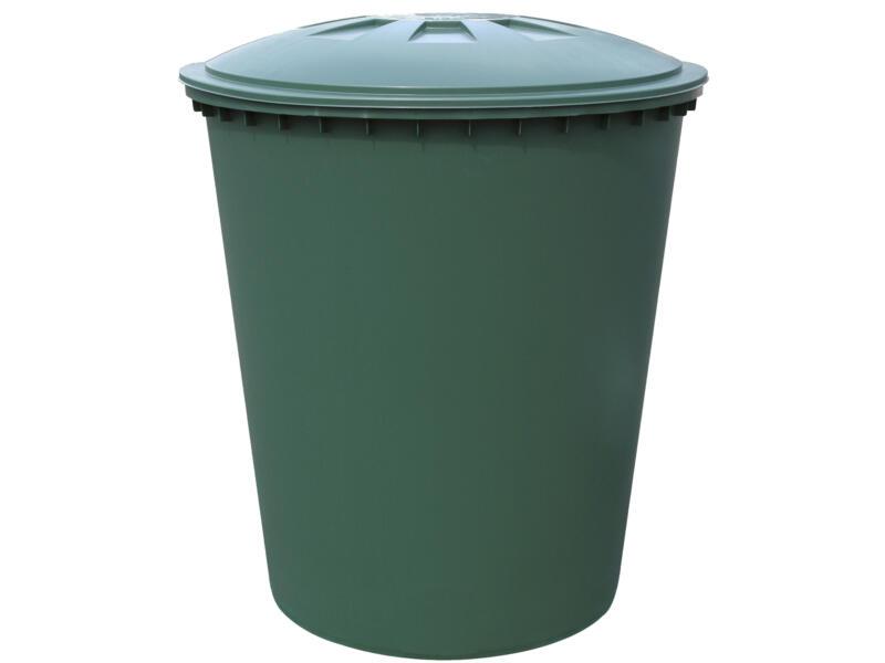 Tonneau de pluie conique 210l vert
