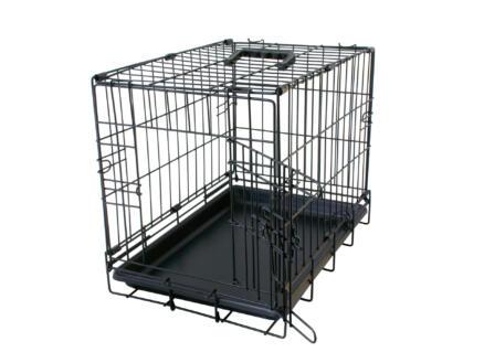 Topline bench 62x44x50 cm zwart