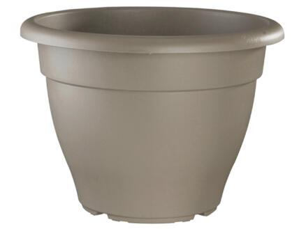 Elho Torino Campana pot à fleurs 50cm taupe