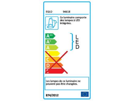 Eglo Torretta éclairage miroir LED 24W nickel