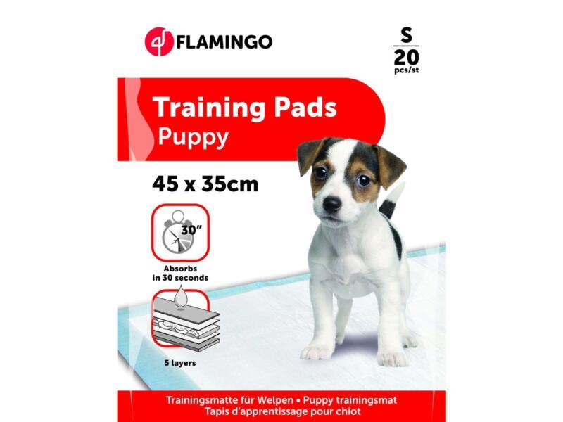Flamingo Trainingsmat puppy 45x35 cm 20 stuks