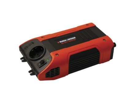 Black+Decker Transformateur 12V-230V 500W 12A