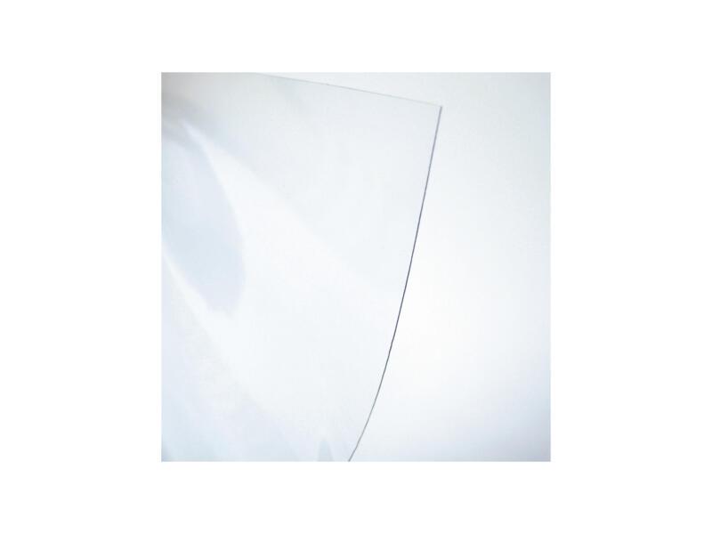 Transparant tafelzeil Cristal 140cm x 0,10mm per lopende meter