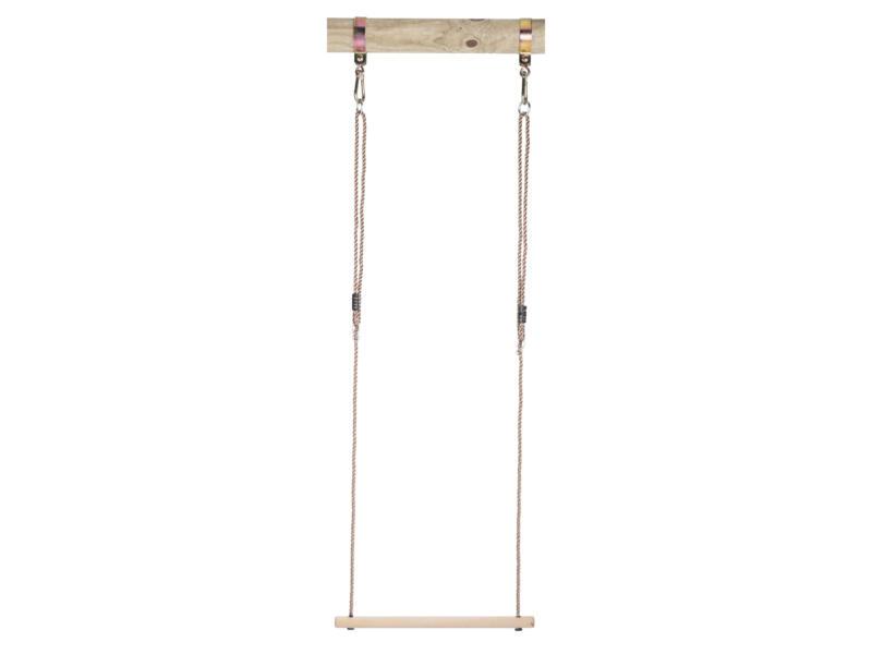 Trapèze balançoire 48cm bois