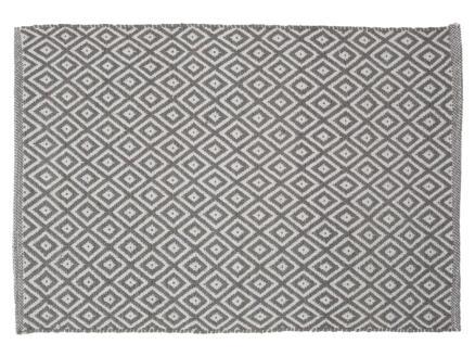 Sealskin Trellis badmat 90x60 cm grijs