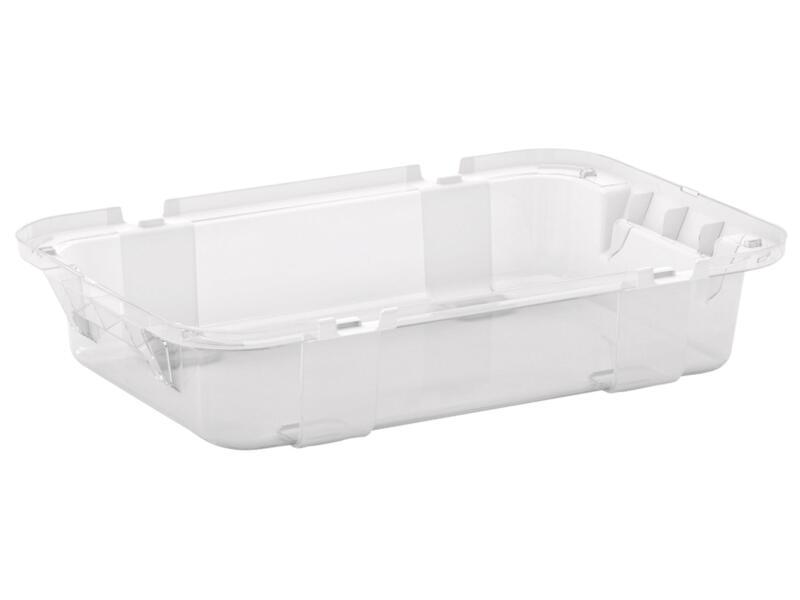 Tribac opbergbox 5l transparant