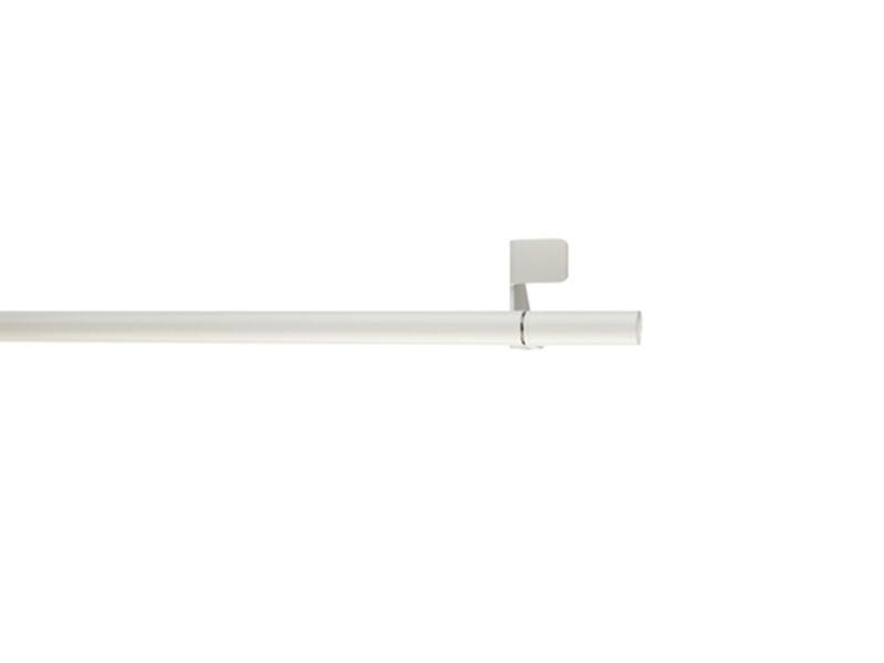 Tringle à bloquer extensible 80-110cm blanc