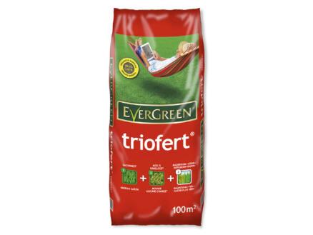 Evergreen Triofert engrais gazon 10kg 100m²