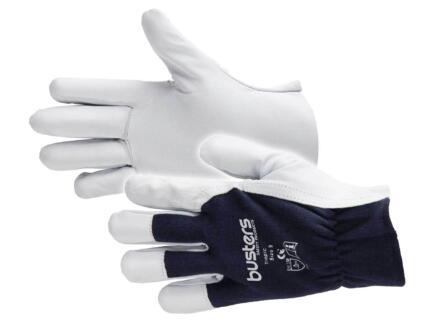 Busters Tropic gants de travail M cuir noir