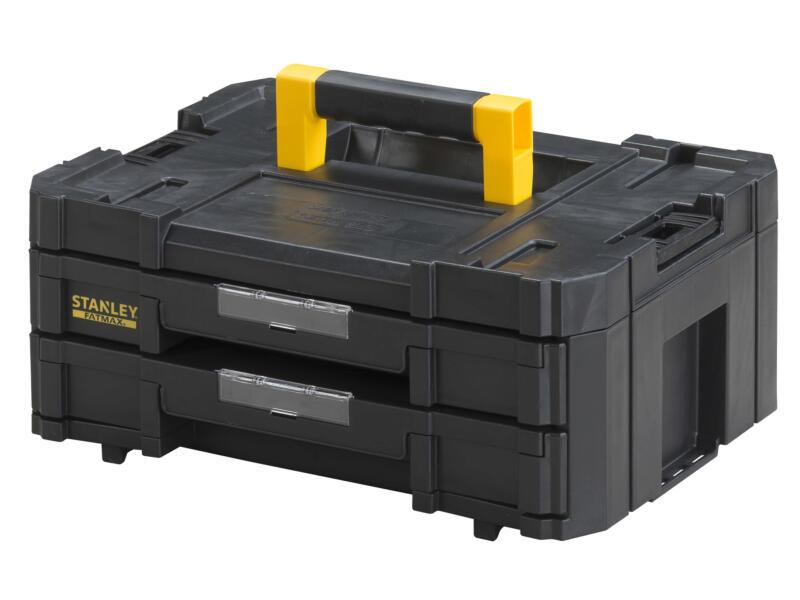 Stanley Fatmax Tstak 2-en-1 boîte à outils tiroirs 44x31x17,6 cm