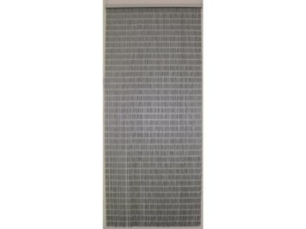 Confortex Tube deurgordijn 90x210 cm zilver