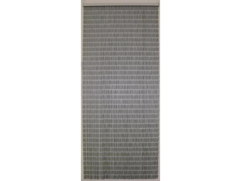 Confortex Tube rideau de porte 100x232 cm argent