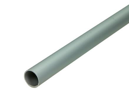 Arcansas Tube rond 1m 24mm aluminium mat anodisé