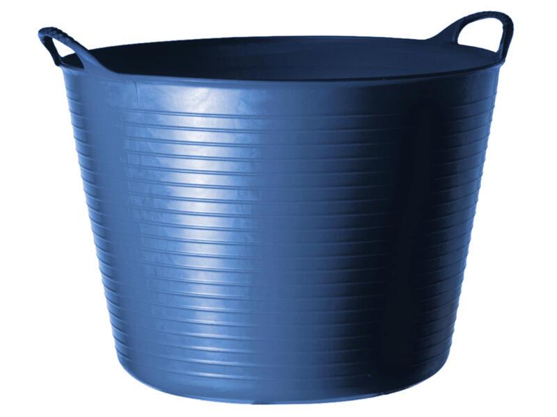 Tubtrug flexibele tuinmand 42l blauw