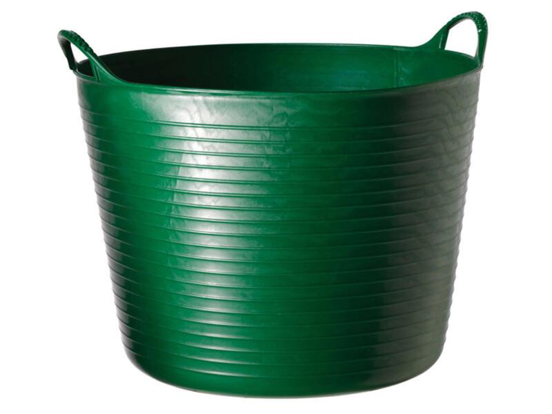 Tubtrug flexibele tuinmand 42l groen