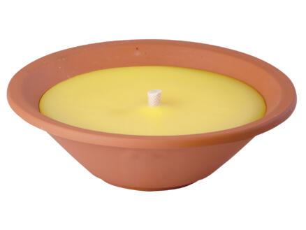 Tuinkaars terracotta 20cm citronella